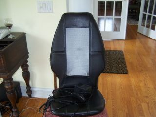 Homedics Shiatsu Massaging Chair Cushion SBM 200 Upper Lower Back Massage