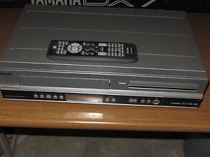 Philips Digital Video Disc Recorder Video Cassette Recorder with Digital Tuner