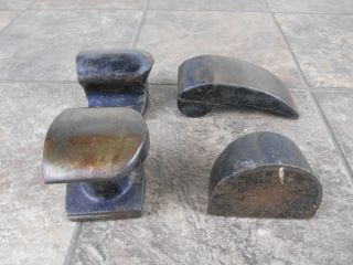 Old Used Tools Auto Body Work Lot of 4 Body Dollies Rat Rod GearHead Restoration