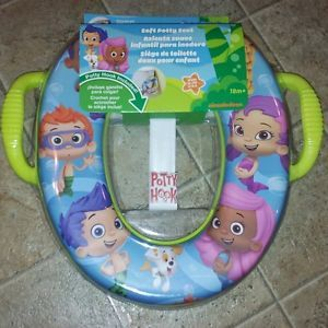 New Bubble Guppies Soft Potty Training Seat Ginsey Portable Toilet Toddler Seat