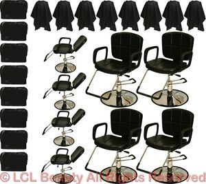 8 Reclining All Purpose Hydraulic Styling Barber Chair Shampoo Salon Equipment