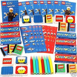 Lego City 48 Piece Party Favor Pack Party Supplies New