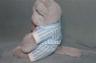 "The North American Teddy Bear Co Kitty Cat ""Cats Pajamas"" Plush Toy Doll 1988"