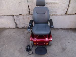 Rascal 318 Electric Wheel Chair Power Chair Scooter Factory Rebuilt Works Fine 2