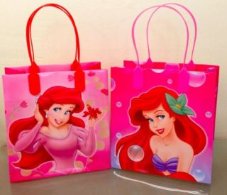 12 Pcs Disney Princess Ariel Little Mermaid Party Favors Gift Bag Goodie Bags