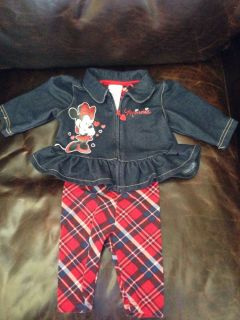 2 Pieces 0 3 Months Old Baby Girl Clothing Disney