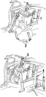 Ford 3R3Z63611B08AAA Front Seat Belts Retractor Assembly