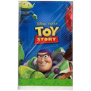"Disney Toy Story 1 Plastic Tablecover 54x84"" Birthday Party Supply Decoration"