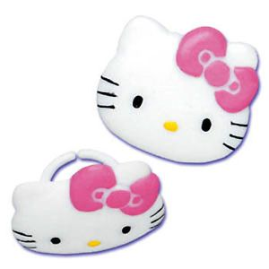 Hello Kitty Cupcake Rings Cake Decorations Toppers Party Favors Supplies 24
