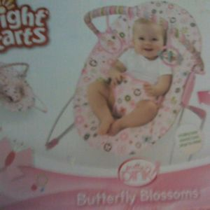 Bright Starts Bouncer Butterfly Blossoms Bouncy Soother Seat Chair