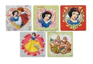 10 Snow White Glittter Disney Princess Stickers Kid Party Goody Bag Favor Supply
