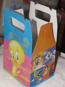 New 6 Looney Tunes Lunch Box Party Supplies Favors Baby Shower Decorations