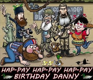 Duck Dynasty 2 Birthday Edible Cake Topper Decorations
