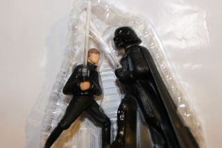 Star Wars Action Figures Cake Toppers Luke Skywalker Darth Vader
