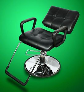 New Mtn All Purpose Barber Salon Spa Beauty Hydraulic Recline Chair Black