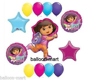 Dora The Explorer Backpack Birthday Party Supplies Balloons Berry Go Diego New