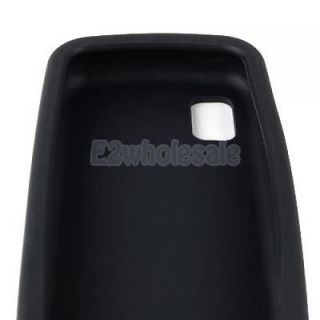 Black Silicone Skin Case for Samsung Solstice SGH A887