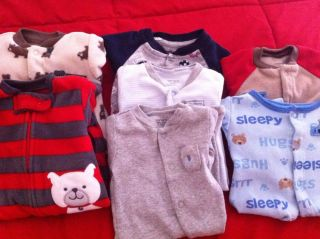 Baby Boy Sleeper Boy Clothes Carters Baby Boy Small Lot