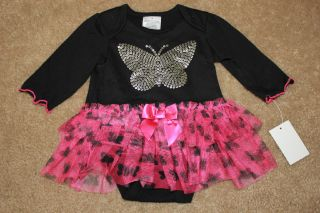New Infant Easter Pink Girls Tutu Skirt Shirt Dress Set Outfit Clothes 0 3M