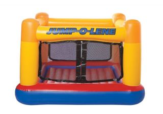 Bounce House Inflatable Bouncer Moonwalk Jumper Bouncy Party Supplies with Pump