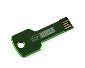 Green Key Shape USB 2 0 Flash Drive Memory Storage Stick Thumb Key U Disk 4GB US