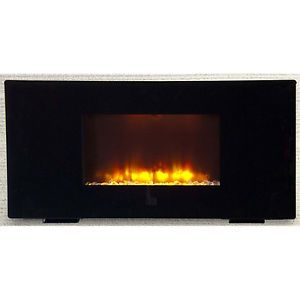 "New 50"" Electric Flat Panel Wall Mount Fireplace Heater Remote"