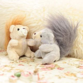 3 Squirrel Soft Stuffed Scart Plush Baby Beadtime Story Toy Doll Kids Party Gift