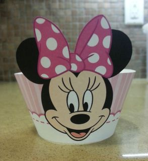 Minnie Mouse Cupcake Wrappers Cupcake Liners Cupcake Supplies Party Supplies