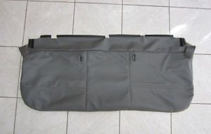99 07 Ford F250 F350 F450 Flatbed F550 XL Bottom Vinyl Bench Seat Cover Gray