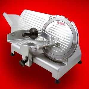 "New Mtn 12"" Commercial Restaurant 420W Electric Frozen Meat Deli Food Slicer"