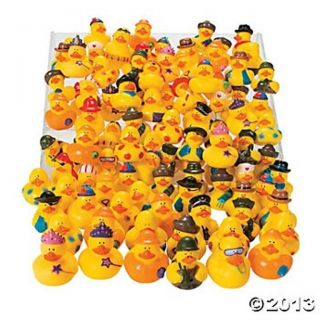 50 Cute Rubber Ducky Toys Kids Birthday Party Favors Duck Bath Tub