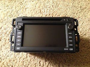 07 09 GM Truck Tahoe Yukon Silverado Suburban Radio GPS Navigation CD DVD Unit