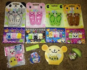 Japanese Erasers Lot Kawaii Party Favor Set Bear Pig Frog Panda Animal Kid Adult