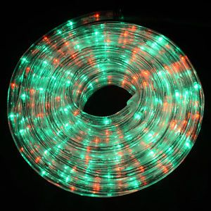 6M Superbright Red Green LED Chasing Rope Lights
