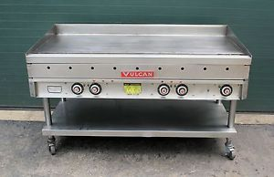 "Vulcan Flat Griddle Portable Commercial Gas 60"" Grill Restaurant Equipment"
