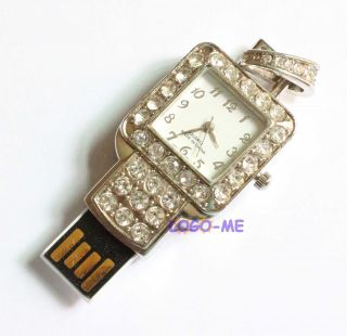 USB Flash Memory Pendrive Thumb Stick 1GB 2GB 4GB 8GB 16GB Clock Watch Style