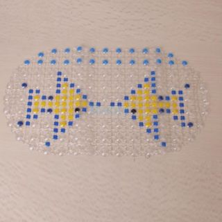 Double Fishes Pattern PVC Bathroom Floor Kitchen Non Slip Mat Foot Massage Pad