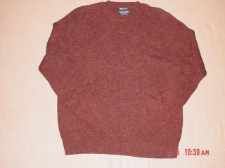 Mens XL Wool Crew Neck Sweater