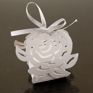 Rose Favor Candy Box Party Wedding Decorations 24pcs
