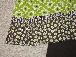 "New ""Green Tea Floral"" Pants Girls Clothes 18M Boutique Infant Fall Winter Baby"