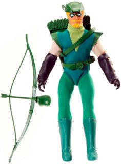 Green Arrow Retro Action DC Super Heroes Figure Oliver Queen Exclusive Mego