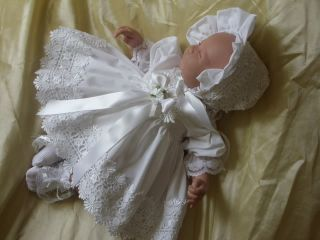 Dream 0 3 MTH Baby 2pc Dress Set Reborn Doll 20 24""