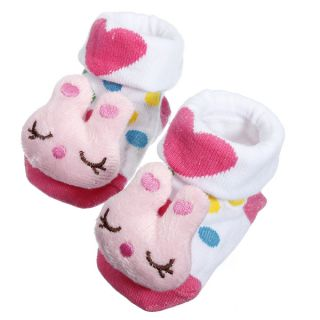 Baby Boy Girl Newborn Toddler Cartoon Anti Slip Socks Shoes Boots Slipper Gifts