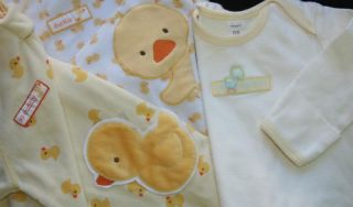Baby Boy Girl Neutral NB 0 3 0 6 0 9 Months Sleep Sack Gown Pajama Clothes Lot