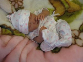 'Sweetheart Nursery' OOAK Prem Cute Baby Girl 'Amy Rose' Reborn Artist 8 Years