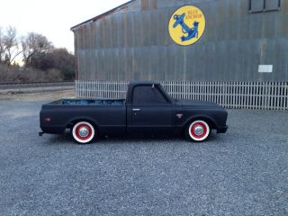 1967 Chevy C10 Short Bed Fleet Side Truck California Rat Rod Shop Truck