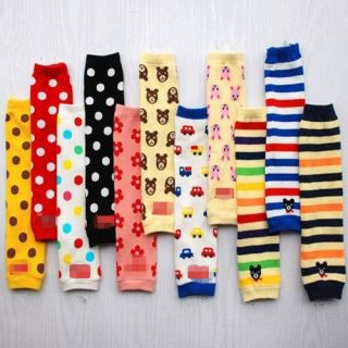 Colorful Cute Baby Toddler Leg Warmer Leggings Cotton Sock Boy Girl 11 Style 04