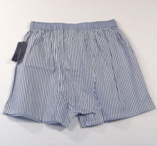 Tommy Hilfiger Striped Classic Fit Cotton Boxer Shorts Underwear 2 Pair Mens