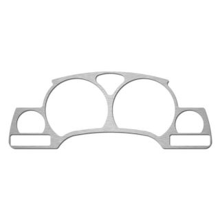 Saturn Vue 02 06 Brushed Aluminum Custom Speedometer Dash Gauge Bezel Trim Kit
