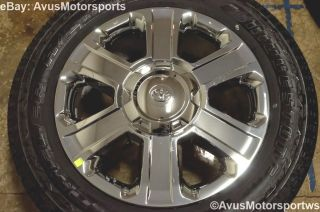 "2014 Toyota Tundra 1794 20"" Chrome Wheels Tires Sequoia Land Cruiser LX 470"